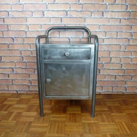 Bedside Cabinet Industrial Furniture-Small-IBT003