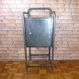 Bedside Cabinet Industrial Furniture-Tall-IBT004