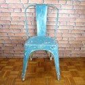 Tolix Chair A Industrial Furniture-Blue-ITC011