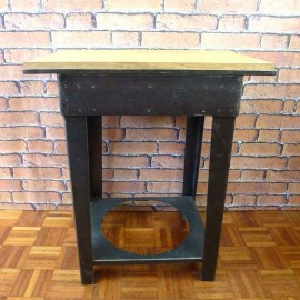 Side Table Industrial Furniture-Small-IST001