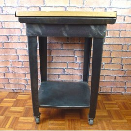 Trolley Table Industrial Furniture-Small-ITT001