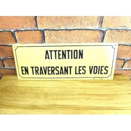 Plaque Metal SNCF - Decoration Industrielle - KMS002