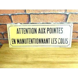 Plaque Metal SNCF - Decoration Industrielle - KMS003
