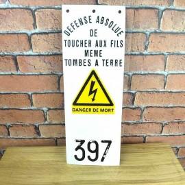 SNCF Metal Sign Industrial Decoration--KES001