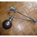 Jielde Lamp Industrial Lighting - 2 arms Graphite - IJIEL010