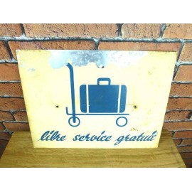Metal Sign - Industrial Decoration - KMS005