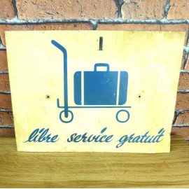 Metal Sign - Industrial Decoration - KMS011