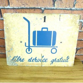 Metal Sign - Industrial Decoration - KMS012