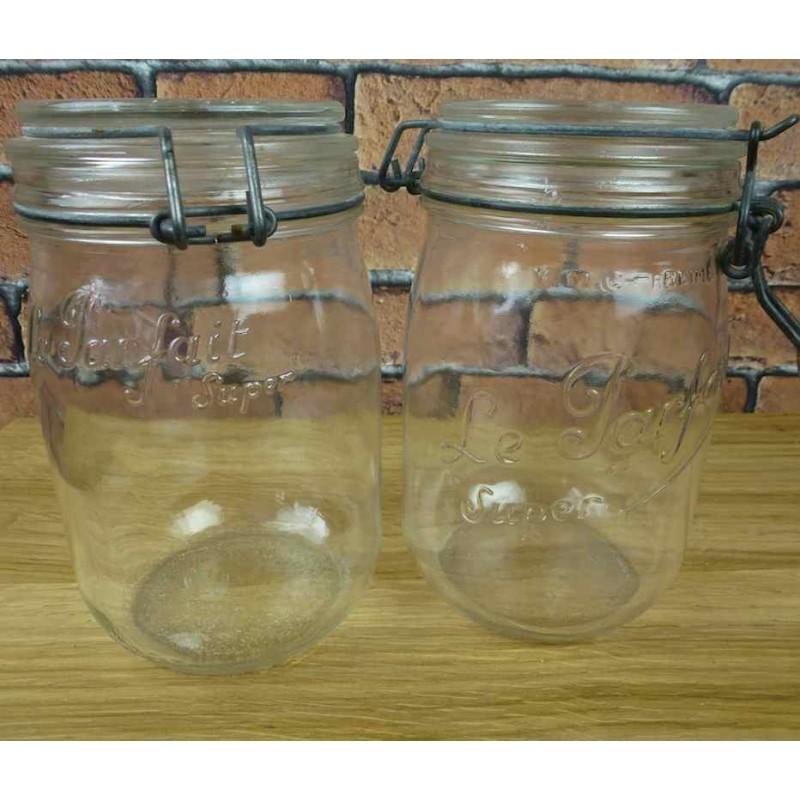 Bocaux en verre deco kjj009 la boutique vintage for Decoration bocal en verre