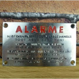 Metal Sign - Industrial Decoration - KMS013