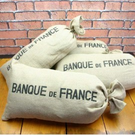 Cushion - Banque de France - Vintage Home Décor - KVC001