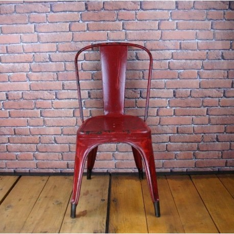 Red Tolix Chair Type A