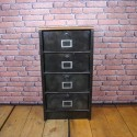 Filling Cabinet Industrial Furniture - 4 Clapets - IFC001