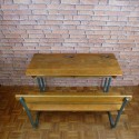 School Desk Vintage Furniture - VSD002