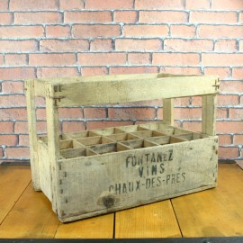 Wooden Crate - Vintage Home Décor - KWC004
