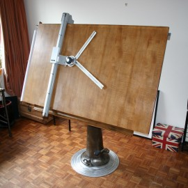 Vintage Drafting Table by Nike of Eskilstuva in Sweden