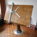 Vintage Drafting Table by Nike of Eskilstuna Sweden