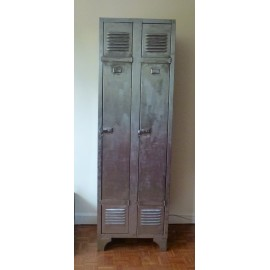 Industrial French Locker 2 doors