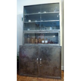 Industrial Metal Kitchen Unit
