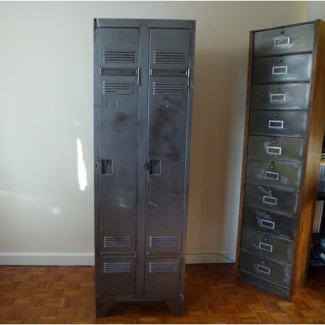 Industrial Metal Locker 2 doors
