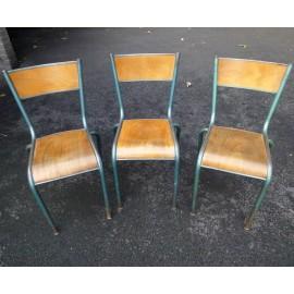 Vintage Mullca School chairs - Set of 3