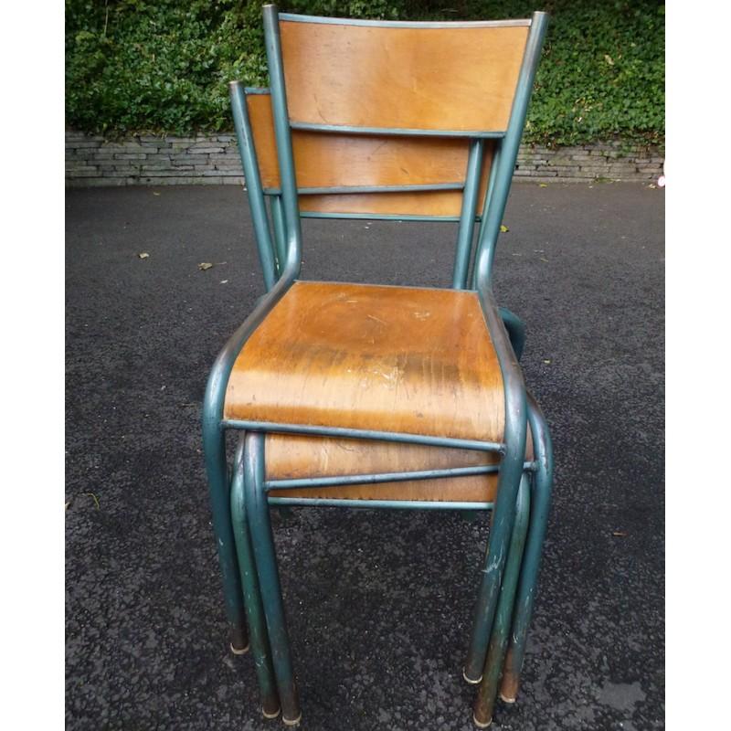 Vintage School Chairs