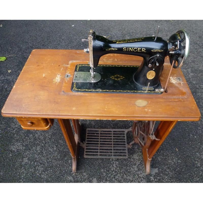 vintage singer industrial sewing machine models