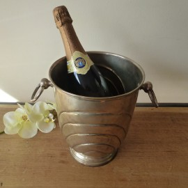 Vintage Champagne Ice Bucket Silver Colour