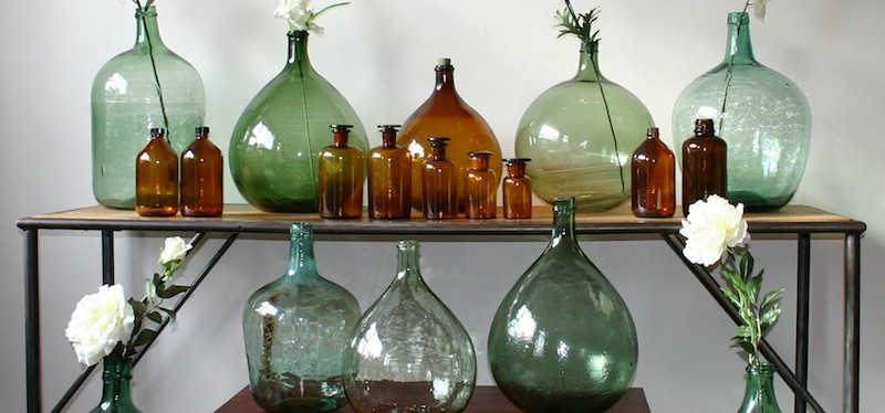Vintage Demijohn|Vintage Home Decor|La Boutique Vintage
